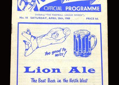 Middlesbrough v Preston 20.04.1968