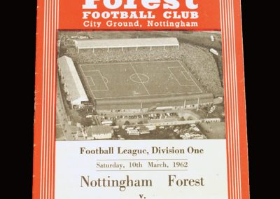 Notts Forest v Man City 10.03.1962