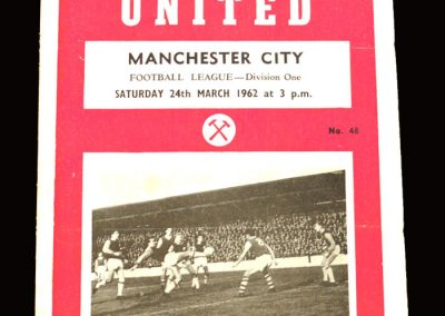 West Ham v Man City 24.03.1962