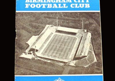 Middlesbrough v Birmingham 25.08.1965