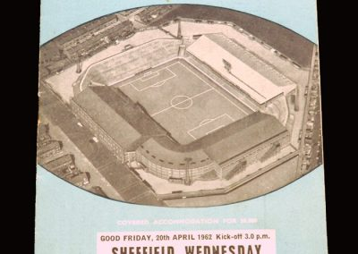 Man City v Sheff Wed 20.04.1962