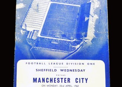 Sheff Wed v Man City 23.04.1962
