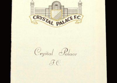 Middlesbrough v Crystal Palace 19.02.1966