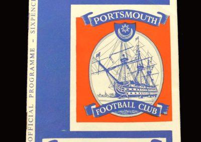 Middlesbrough v Portsmouth 25.03.1966