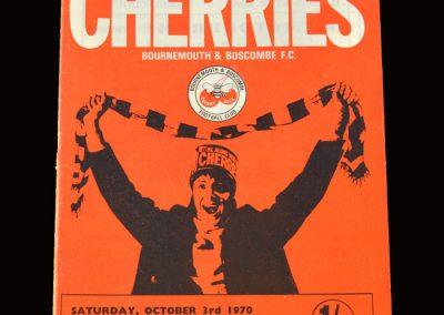 Cambridge v Bournemouth & Boscombe 03.10.1970