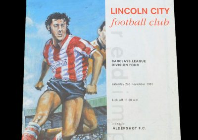 Aldershot v Lincoln 02.11.1991