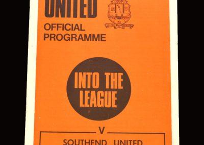 Cambridge v Southend 31.10.1970