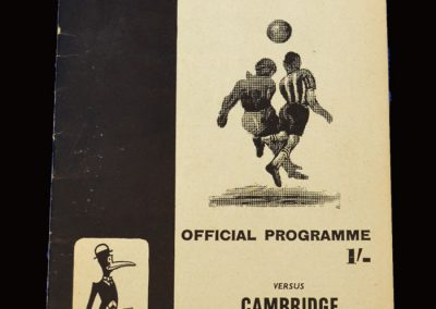 Cambridge v Notts County 26.12.1970