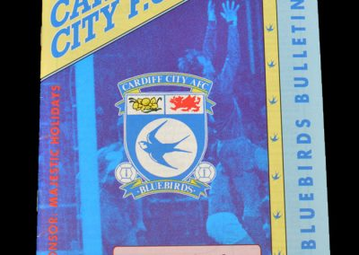 Aldershot v Cardiff 20.03.1992