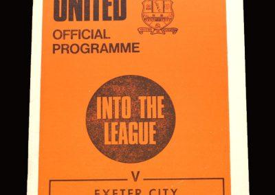 Cambridge v Exeter 06.03.1971