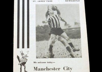 Man City v Newcastle 23.11.1963