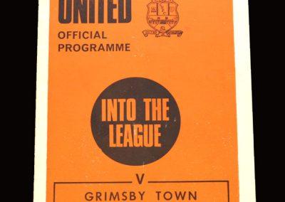 Cambridge v Grimsby 20.03.1971