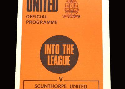 Cambridge v Scunthorpe 27.03.1971