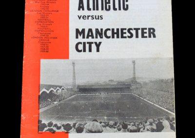 Man City v Charlton 15.02.1964