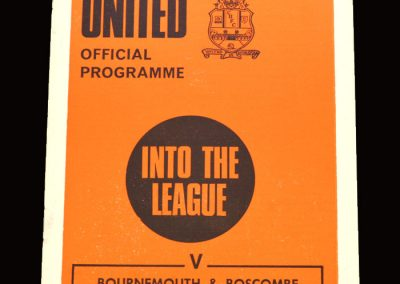 Cambridge v Bournemouth & Boscombe 13.04.1971