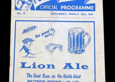Man City v Preston 28.03.1964