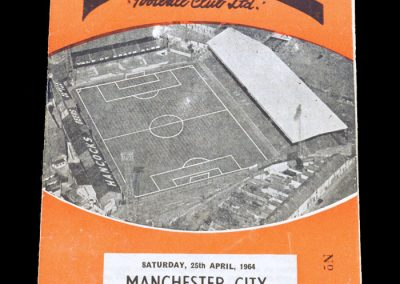 Man City v Swansea 25.04.1964