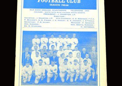 Shrewsbury v Scunthorpe 28.12.1965