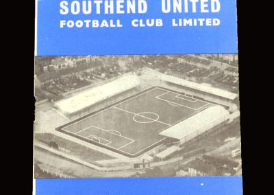 Shrewsbury v Southend 14.03.1966