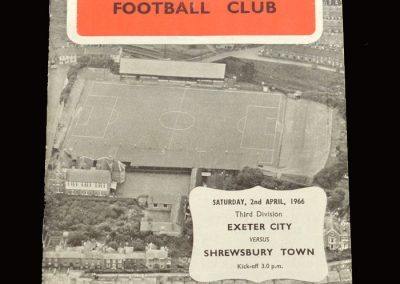 Shrewsbury v Exeter 02.04.1966