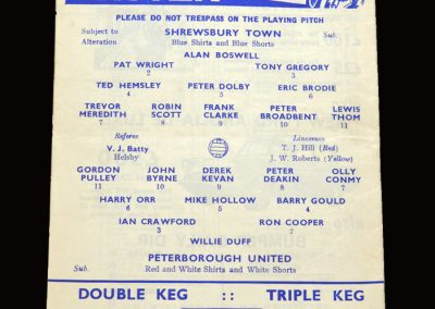 Shrewsbury v Peterborough 12.05.1966