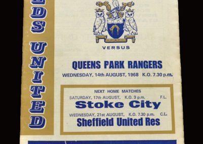 Leeds v QPR 14.08.1968