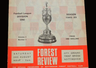 Leeds v Notts Forest 24.08.1968 (abandoned)