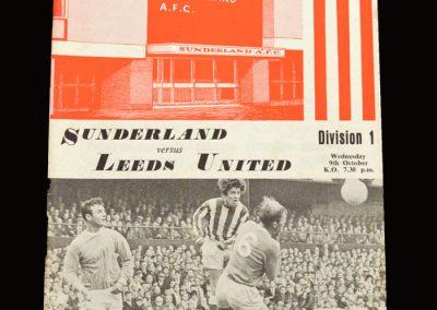 Leeds v Sunderland 09.10.1968