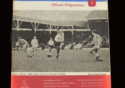 Leeds v Burnley 19.10.1968