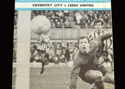 Leeds v Coventry 16.11.1968