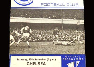 Leeds v Chelsea 30.11.1968
