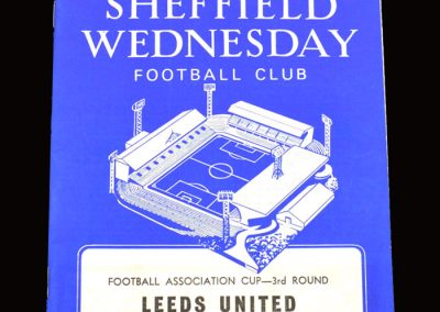 Leeds v Sheff Wed 04.01.1969 - FA Cup 3rd Round