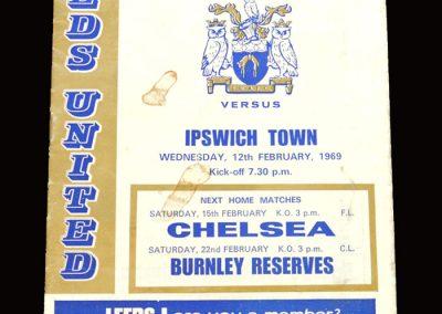 Leeds v Ipswich 12.02.1969
