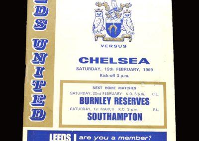 Leeds v Chelsea 15.02.1969