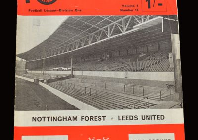 Leeds v Notts Forest 25.02.1969