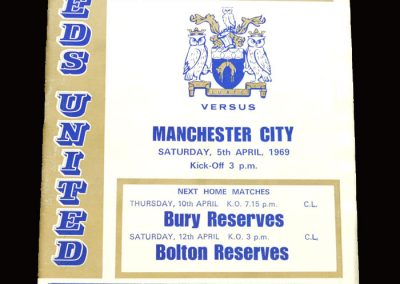 Leeds v Man City 05.04.1969