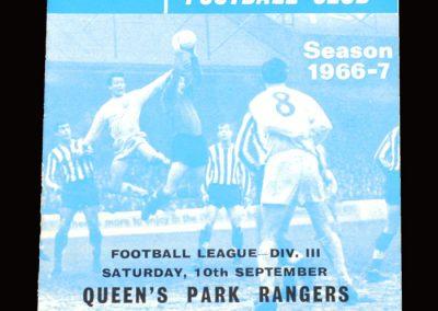 QPR v Reading 10.09.1966
