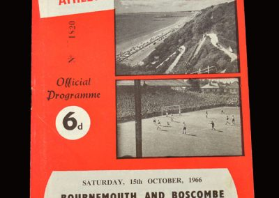 QPR v Bournemouth & Boscombe 15.10.1966