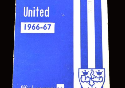 QPR v Colchester 10.12.1966