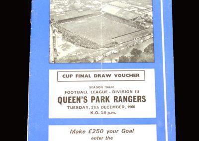 QPR v Brighton 27.12.1966