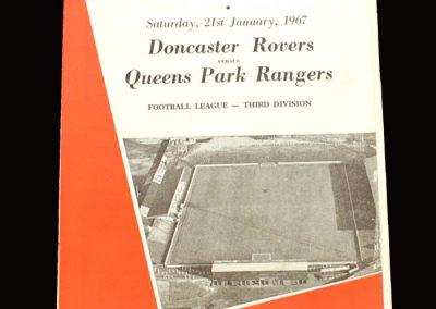 QPR v Doncaster 21.01.1967