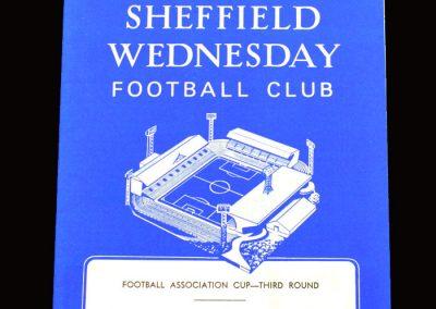 QPR v Sheff Wed 28.01.1967 - FA Cup 3rd Round