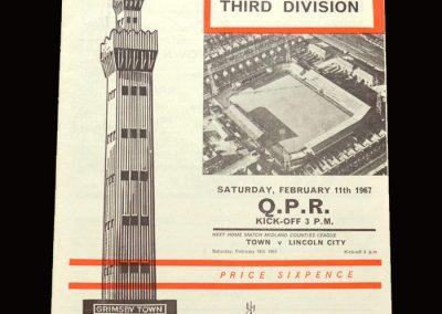 QPR v Grimsby 11.02.1967