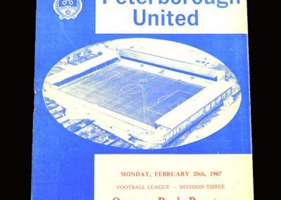 QPR v Peterborough 20.02.1967