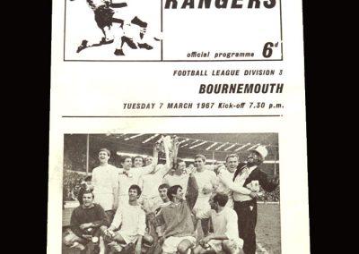 QPR v Bournemouth 07.03.1967