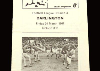 QPR v Darlington 24.03.1967