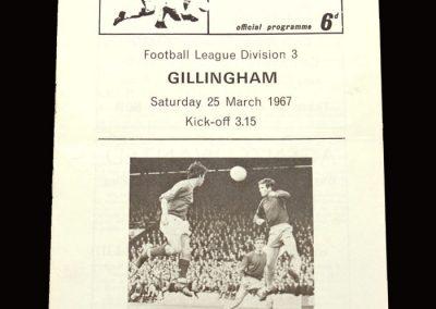 QPR v Gillingham 25.03.1967