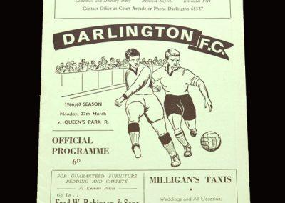 QPR v Darlington 27.03.1967