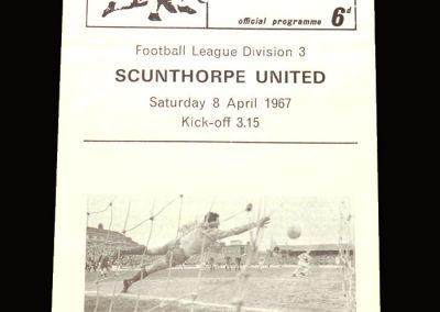 QPR v Scunthorpe 08.04.1967