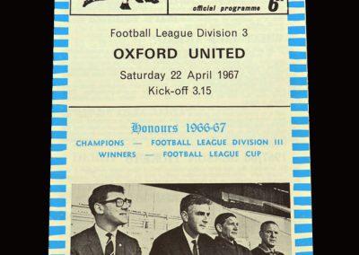 QPR v Oxford 22.04.1967
